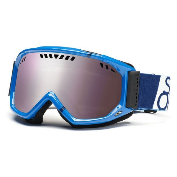Smith Scope Graphic Google Royal Blue Team / Sense Mirror