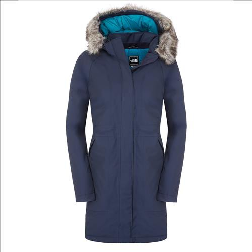 the north face arctic parka damen marine bekleidung damen daunenjacken damen. Black Bedroom Furniture Sets. Home Design Ideas